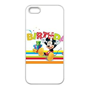 iPhone 5, 5S Phone Case Disney cartoon Mickey Mouse Minnie Mouse Protective Cell Phone Cases Cover DFK090736