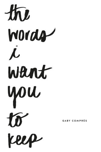 the words i want you to keep (Beste Brille Fall)
