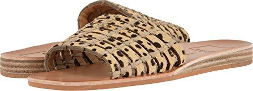 Dolce Vita Women's COLSEN Slide Sandal Leopard Calf Hair 7.5 M US