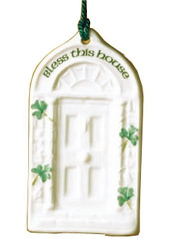 Belleek House Blessing Ornament