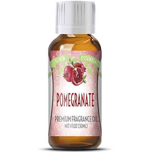 - Pomegranate Scented Oil by Good Essential (Huge 1oz Bottle - Premium Grade Fragrance Oil) - Perfect for Aromatherapy, Soaps, Candles, Slime, Lotions, and More!