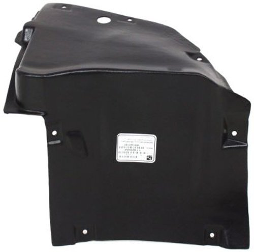 OE Replacement Mercedes-Benz Front Driver Side Fender Inner Panel (Partslink Number ()