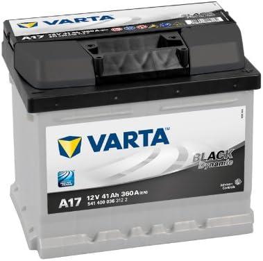 BATER/ÍA COCHE VARTA BLACK DYNAMIC 12V 41AH A17