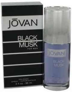 Jovan Black Musk For Men 3.0 Fl. oz. Eau De Cologne Spray Men