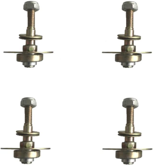 Acxico 4Pcs Rocking Chair Bearing Connecting Piece Rocking Chair Bearing Screws Kits Furniture Connecting Fittings