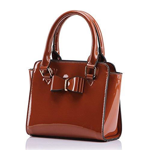 Bags Clutch Evening Top Wedding Purser Handbag Brown Cross S Bag Women's Body Leahward 8xAqTB0A