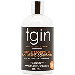 tgin Triple Moisture Replenishing Conditioner for Natural Hair, 13oz