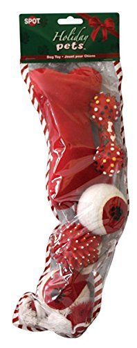 688249 Holiday Dog Stocking OUT-Season 0801, Medium by ETHICAL CHRISTMAS