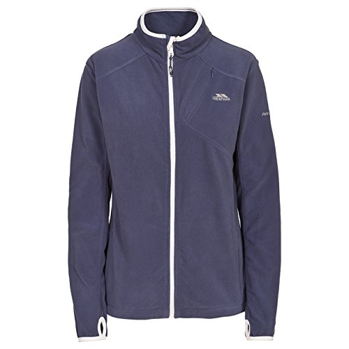Trespass Womens Womens/Ladies Saskia Ultra Lightweight Fleece Jacket Airforce Blue 18/XXL - Bust 42