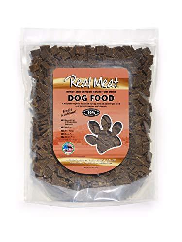 Real Meat Company Air Dried Turkey & Vension Dog Food, 10-lb Bag (Best Dog Food Company)