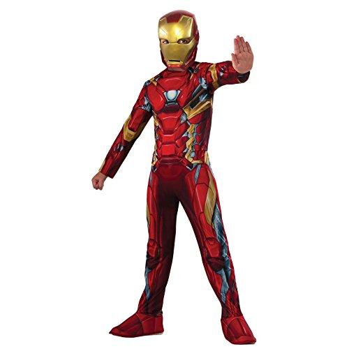 Iron Man 2 Costume (Rubie's Costume Captain America: Civil War Value Iron Man Costume, Medium)