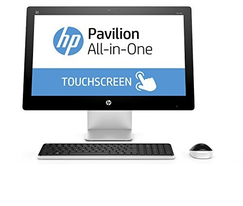2017 HP Pavilion 23 Inch Touchscreen FHD All-in-One Premium Flagship Desktop (Intel Core i3-4170T 3.2GHz, 6GB RAM, 1TB HDD, WiFi, DVD, Windows 10 Home) (Renewed)