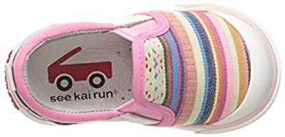 See Kai Run Kids' Italya Multi Stripe Slip-on