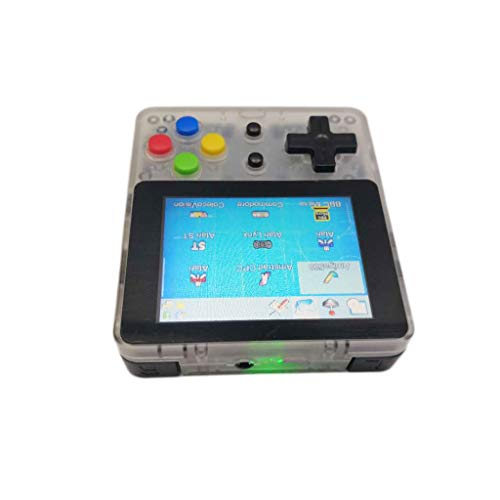 Clearance Sale!DEESEE(TM)Game Screen by 2.6 Thumbs Mini Palm Palm Console of Nostalgic Game Children (White)