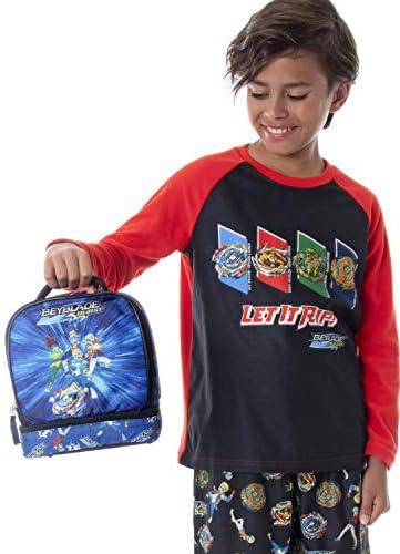 Details about  /Beyblade Burst Elementary-school Backpack 4PCS Kids Shoulder Bag Lunch Bag Lot