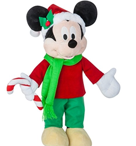 Candy Cane Stripe Mouse - Mickey Mouse  Holiday Greeter with Candy Cane