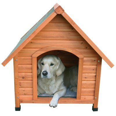 TRIXIE Pet Products Log Cabin Dog House, X-Large