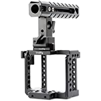 SmallRig Camera Accessories for BMMCC BMMSC including BMMCC Cage, Top Handle, HDMI Lock, Safety Rail - 1922