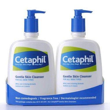 Cetaphil Gentle Skin Cleanser (20 oz., 2 pk.)