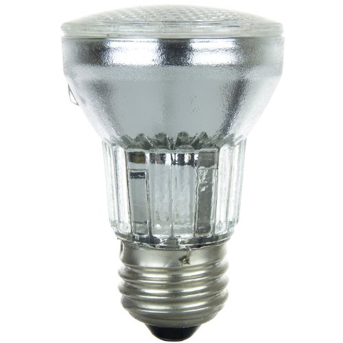 Sunlite 60PAR16/HAL/NFL 60-Watt Halogen PAR16 Reflector Bulb, Clear -