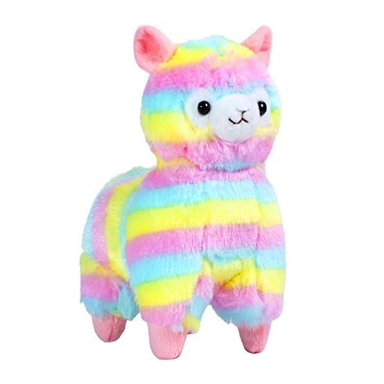 Rainbow Alpaca Plush | 6.7 Inches | Alpacasso Plushies 5