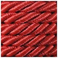 34 Couleurs Cr/éative Neotrims Activit/é Manuelle D/écoration Couture Polypropylene Brillante e-kurzwaren 7mm Ficelle Cordelette 5m // 20m Ficelle de Satin Torsade a Deux Fils