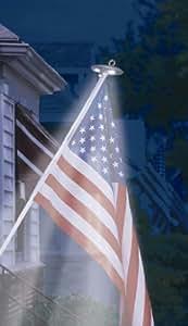 Annin Flagmaker 2804 Solar LED Pole Light, Mini Outdoor, Home, Garden, Supply, Maintenance