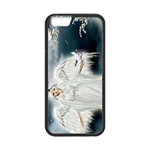 """High Quality Phone Back Case Pattern Design 3Angels in The Sky- For Apple Iphone 6,4.7"""" screen Cases"""
