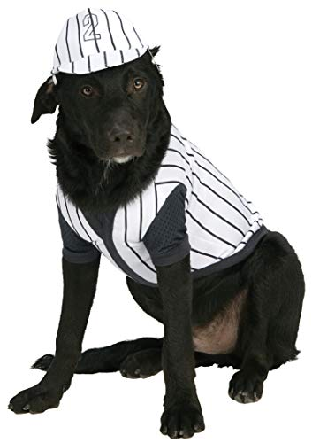 Rubie's Baseball Player Pet Costume, Large -