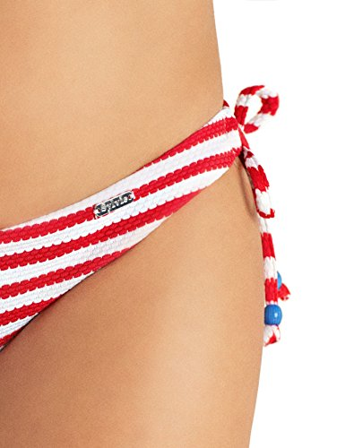 White Rosso Swimwear Sylvie Slip Donna Red Bikini Bayina 4300 Flirty Stripes qCnZP7