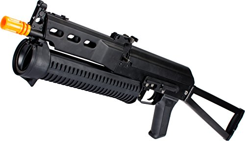 Evike PP-19 AK Bizon-2 Bison Full Size Airsoft AEG Rifle by S&T CYMA Full Metal Lipo Ready Version