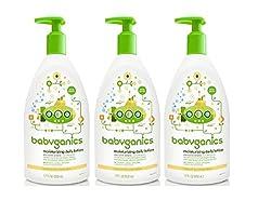 Babyganics Bubble Bath Bundle - 3 Items: 20 Oz Bottles Fragrance Free