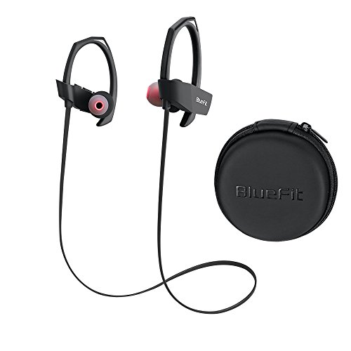 bluetooth earbuds bluefit m1 wireless waterproof headphones ear buds earphones headset with mic. Black Bedroom Furniture Sets. Home Design Ideas