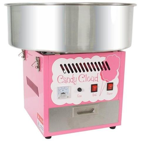 FunTime Commercial Quality Cotton Candy Floss Machine Maker - FT1000CC-P by Funtime