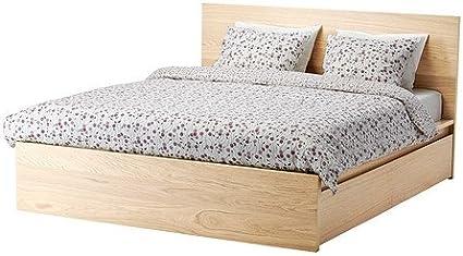 Ikea tamaño Completo Cama de Alta/2 Cajas de Almacenamiento ...