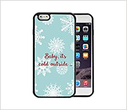 Baby Its Cold Outside Christmas Winter Theme Baby Blue Snowflakes