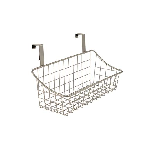 Spectrum Diversified Over the Cabinet Grid Basket, Small, Satin ()