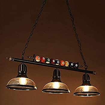 Amazon.com: Ladiqi 3 Lights Island Light Hanging Pool
