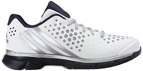 Adidas Performance Boost voleo Respuesta W zapatos, negro / plata / azul negrita, 5 M US White/Silver/Collegiate Navy