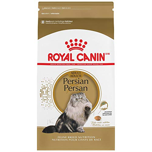 Royal Canin Persian Breed Adult Dry Cat Food, 3 lbs.