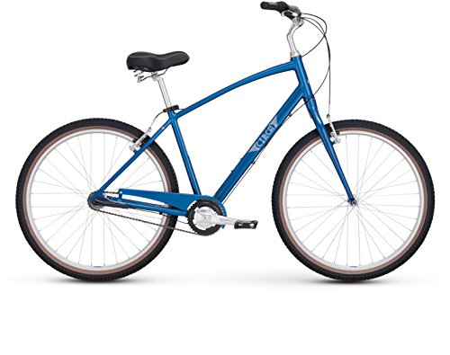 "Raleigh Bikes Circa 3 Comfort Bike, 19""/Large, Blue"