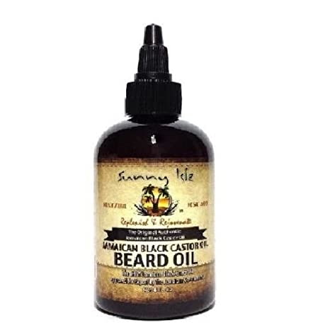 SUNNY Man Natural Jamaica negro Castor Oil barba Petróleo 2 oz