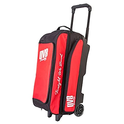 Image of Bags DV8 Freestyle Triple Roller Bowling Bag, Red