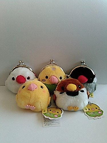 Birds Corps Petit Coin whole set of 5 (Coin Bird Set)