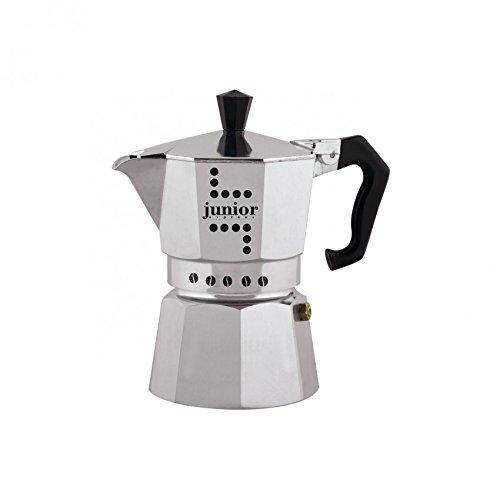 Bialetti Junior Cafetera, Aluminio, Plata, 1 Taza: Amazon.es: Hogar