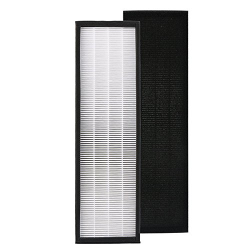 Price comparison product image FLT4825 True HEPA Replacement Filter B for GermGuardian FLT4825 FLT4800 Air Purifiers AC4825,  AC4300, AC4850PT,  AC4900CA,  PureGuardian AP2200CA,  by Aunifun (Filter B)