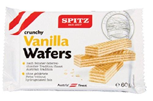 - Spitz Vanilla Spitz Wafer 60g (Pack of 18)