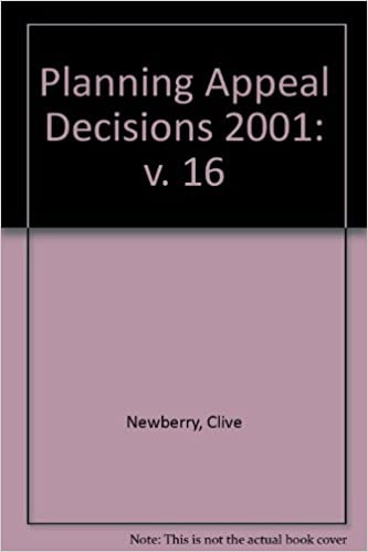 Planning Appeal Decisions 2001: v. 16