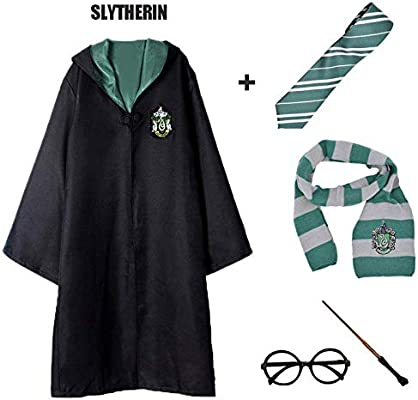 Harry potter Cosplay Costume Gryffindor Slytherin Ravenclaw Hufflepuff Adult Kid