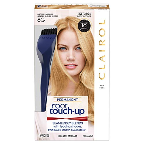 Clairol Nice 'n Easy Root Touch-Up 8G Medium Golden Blonde 1 Kit ()